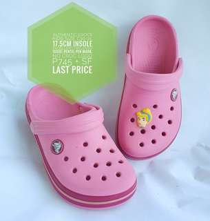 AUTHENTIC CROCS PRELOVED