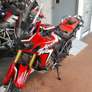 HONDA AFRICAN TWIN WITH FL8111B NICE NO!!!!