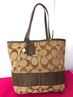 Authentic COACH Signature Tote Bag