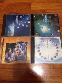 宝丽金 风花雪月 金曲精选 1/2/3/4 CD