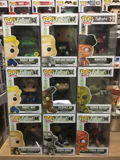 Funko Pop Fallout Set Vault Boy Hancock Power Armor Vinyl Figure Collectible Toy Gift Bundle Sale