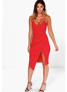 Red Boohoo Night Dress