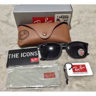 Authentic Ray-Ban Chris RB4187