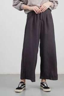 Loose pants / celana panjang stripes / celana kantor / celana ala korea