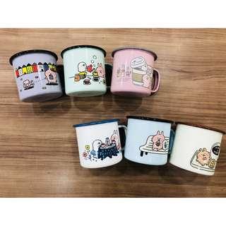 7-11咖啡集點-卡娜赫拉 【下午茶時光琺瑯杯 挑款】