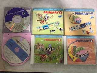 Yamaha JMC primary 1 Cd and DVD