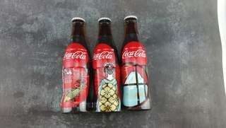 COKE bottle (Set) JAPAN Happy New Year Edition