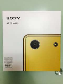 New Sony Xperia M5 GOLD #Nogstday