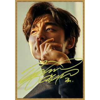 Gong Yoo autograph signed picture
