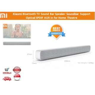 Xiaomi Bluetooth TV Sound Bar Speaker Soundbar Support Optical SPDIF AUX in for Home Theatre