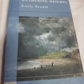 Wuthering Heights from Barnes & Noble Classics