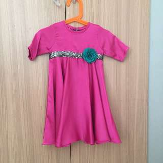 Pink Dress #dressbaby #bajurayababy
