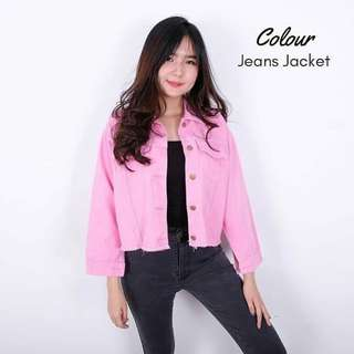 Jaket Jeans Cropy Casual