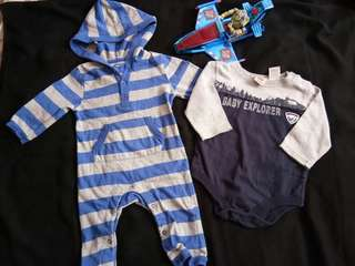 Baby Bundles overall for 3m to 6m