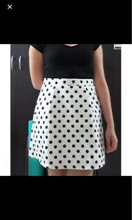 Forme Polka Dot Skirt
