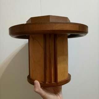 木製 日式和室油紙吸頂燈
