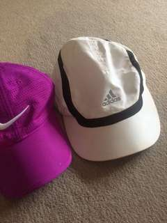 Nike and adidas cap 14 for both or 7 each
