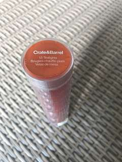Crate & Barrel Tealights Candle