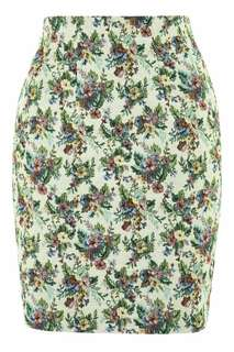 BNWT FLORAL HIGH WAISTED SKIRT