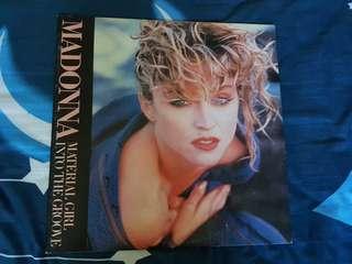 Madonna Into The Groove/ Angel Japan Promo Vinyl