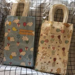 CHILDREN PARTY PAPER BAG / Goody bag / Goodie bag / Gift pack