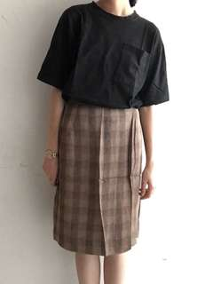 🚚 古著格紋裙(夏天面料)