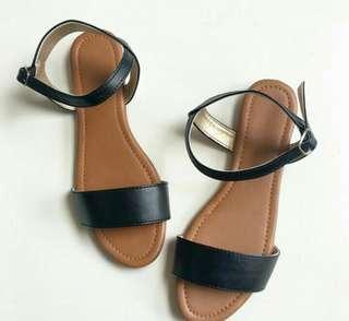 Leatherette Flats