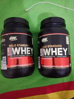 ON Gold Standard 100% Whey (Double Rich Chocolate)