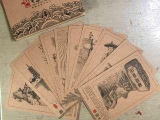 桂林當地明信片 10張不散賣