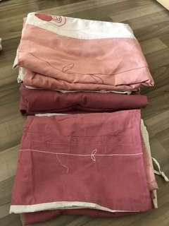 FREE - GIVEAWAY king size bedsheet set