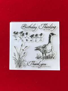 Animals #36 scrapbook clear stamps