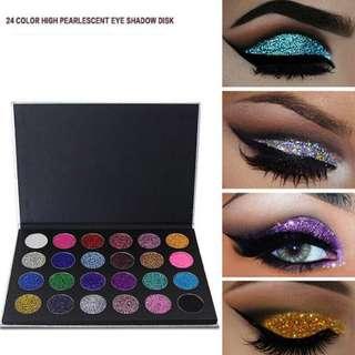 🦋Diamond Glitter Foiled Eye Shadow Make up Palette🦋