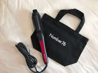 Panasonic Styling Brush Iron (create large curls and volume) - comes with a free Number76 tote bag