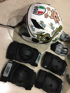 Agv limited edition helmet and accessories