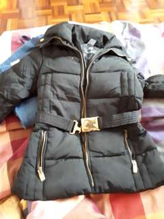 Zara girl winter jacket