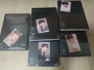 BTS Tear Album Y, O, U Ver. (Maknae line)