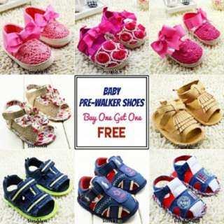 BABY PREWALKER SHOES BUY 1 GET 1 FREE