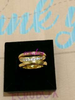 Gold Stainless Ring