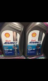 Engine Oil - Shell Advance 10W-40