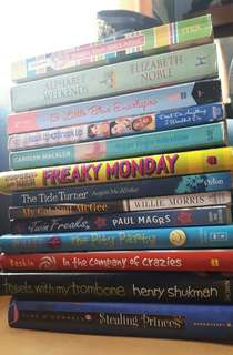 Assorted Books for 50