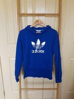 Adidas blue hoodie