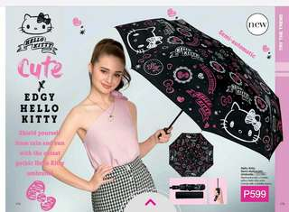 HELLO KITTY SEMI-AUTOMATIC UMBRELLA