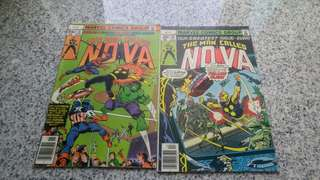 NOVA bronze age marvel Comics