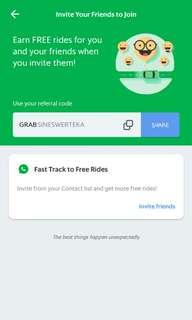 GRAB Free Ride Promo Code