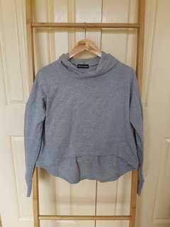 PLT grey thin hoodie