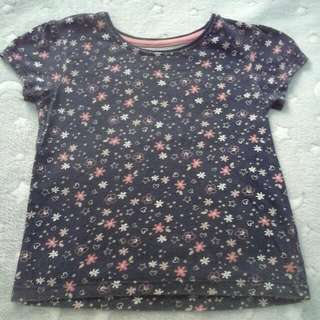 young dimension primark top shirt girl 5 years