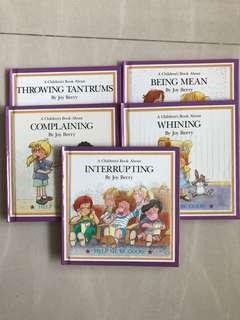 Children 5 set of storybook - help me be good