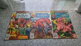 Devil Dinosaur bronze age Marvel Comics