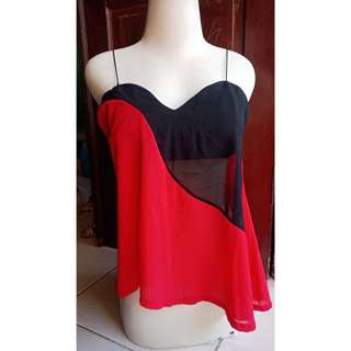black red Top