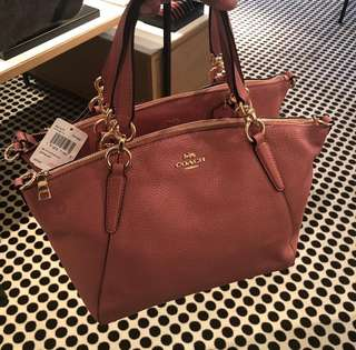 Coach Small Kelsey Vintage Pink